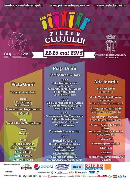 25 mai Zilele Clujului