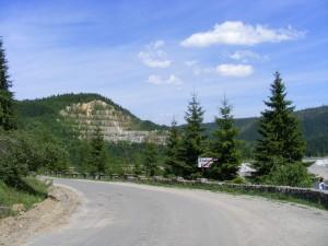 Drum de acces la Belis