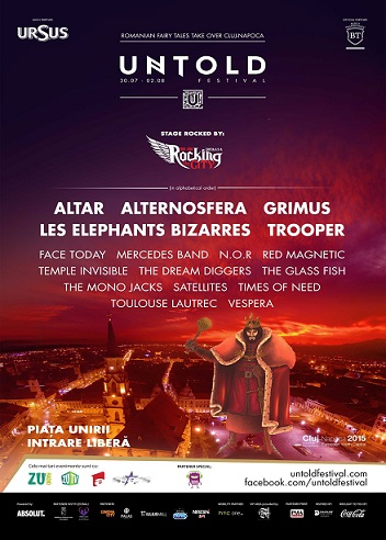 31 iulie-02 august Untold Festival: We are Rocking the City