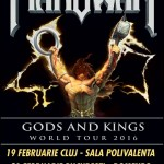 MANOWAR la Sala Polivalenta din Cluj