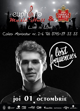 01 octombrie TiMAF 2015: Lost Frequencies