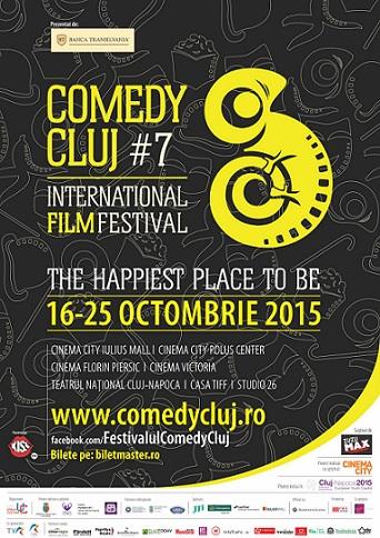 20 de scurtmetraje în competiție la Comedy Cluj 2015