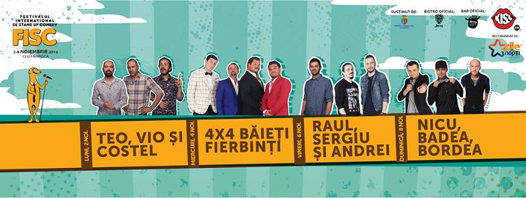 02-08 noiembrie Festivalul Internațional de Stand-up Comedy