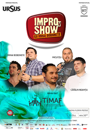 11 octombrie TiMAF 2015: IMPROvShow