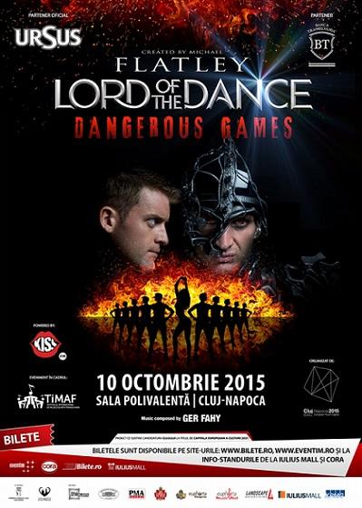 Peste 3500 de participanți sunt așteptați la spectacolul Lord of the Dance – Dangerous Games