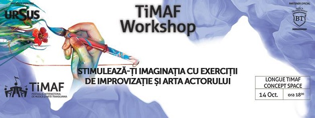 14 octombrie TiMAF 2015: Stimulează-ți imaginația