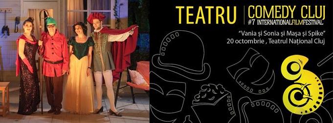 20 octombrie Comedy Cluj: Vania și Sonia și Mașa și Spike