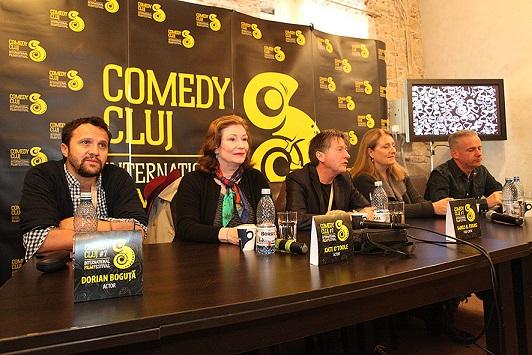 Misiune dificilă pentru juriul Festivalului Comedy Cluj 2015