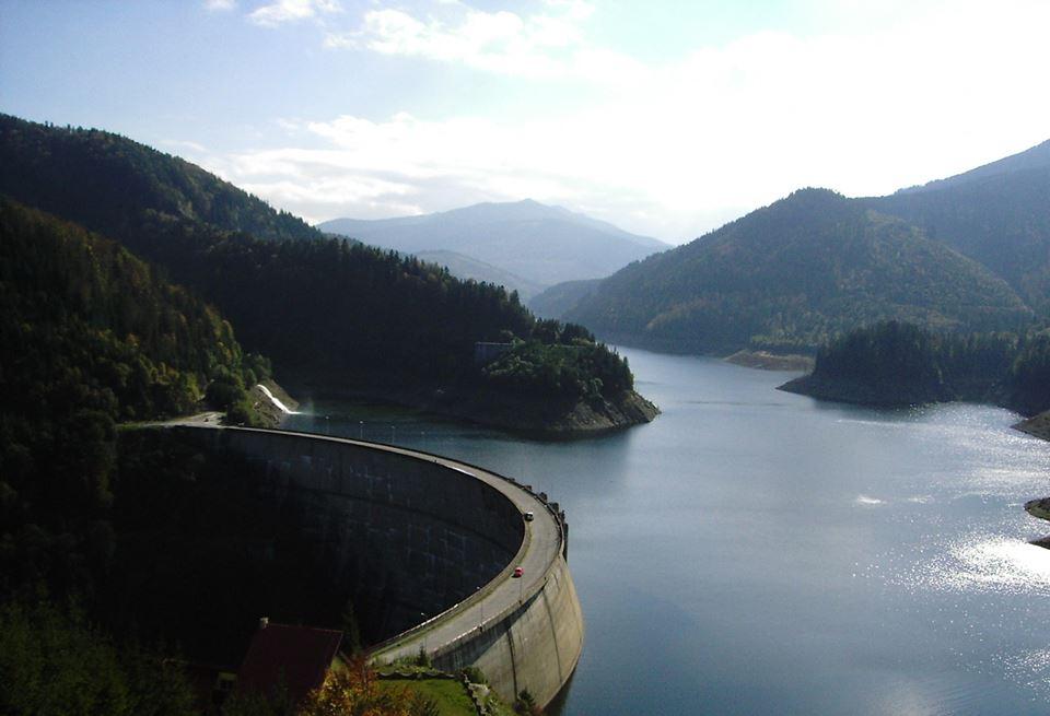 Barajul Dragan din judetul Cluj