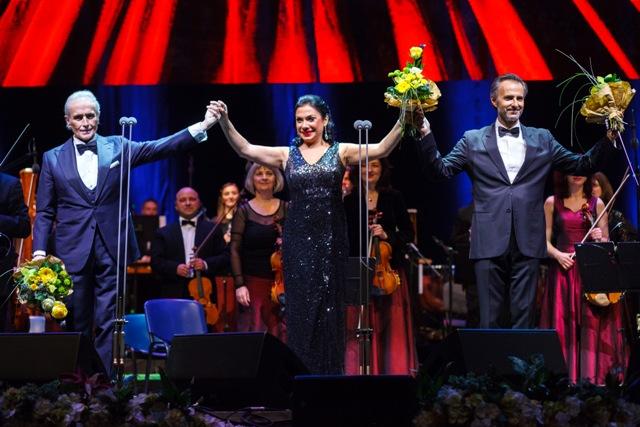 Jose Carreras aplaudat minute in sir in concertul de la Cluj-Napoca