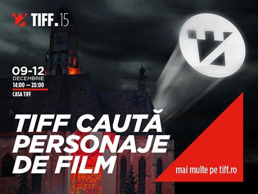 09-12 decembrie TIFF caută personaje de film