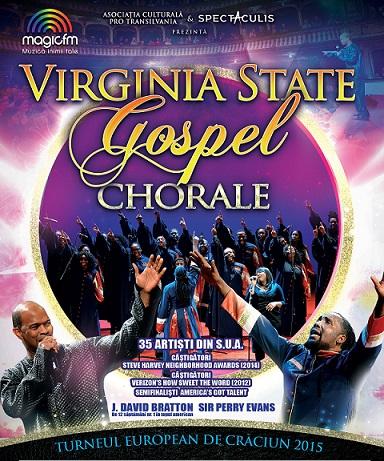 Grupul Virginia State Gospel Chorale aduce muzica gospel în orașele din România