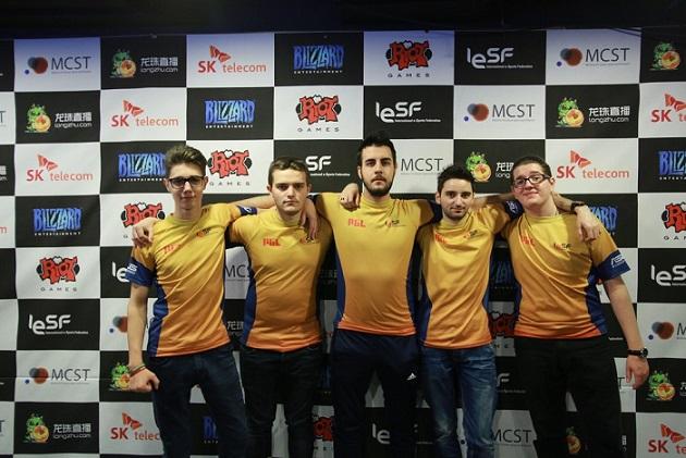 Locul 6 pe națiuni pentru România la Campionatul Mondial de Sporturi Electronice 2015 din Coreea de Sud