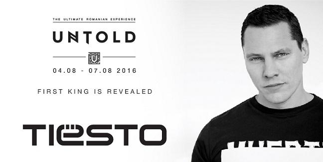 Primul rege: legendarul TIESTO la UNTOLD 2016