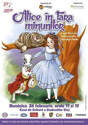 "Castigatorii celor 2 invitatii duble la "" Alice in tara minunilor """