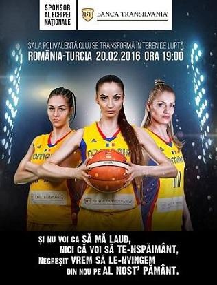 BT lansează o campanie inedită de chemare la oaste pentru meciul de baschet feminin România – Turcia