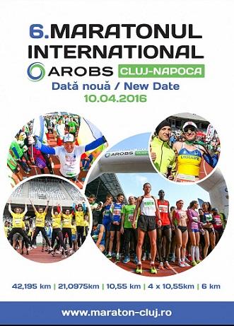 Maratonul Internațional Cluj-Napoca, devansat cu o săptămână de meciurile FED Cup