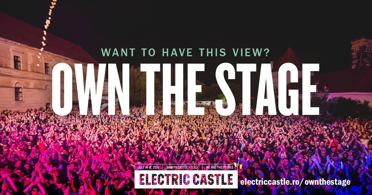 Artiștii români, invitați pe scenele Electric Castle