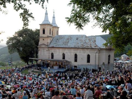 Manastirea Nicula din judetul Cluj