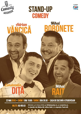 Comedy Weekend – MAI râdem și noi puțin?