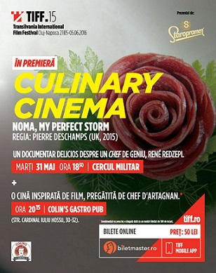 31 mai TIFF – Culinary Cinema