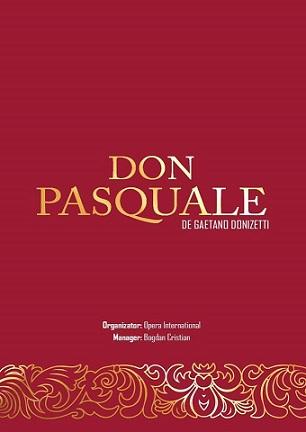 Premieră Don Pasquale