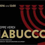 7 mai Repetiție deschisă publicului – Nabucco