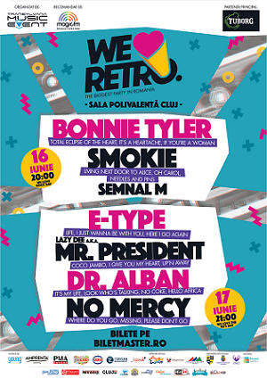 Programul celui mai mare retro party live din România: We Love Retro