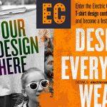 Propune un design pentru tricourile ELECTRIC CASTLE