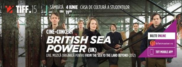 4 iunie TIFF – Cine-Concert British Sea Power