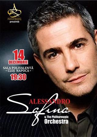 Tenorul Alessandro Safina revine cu un nou concert