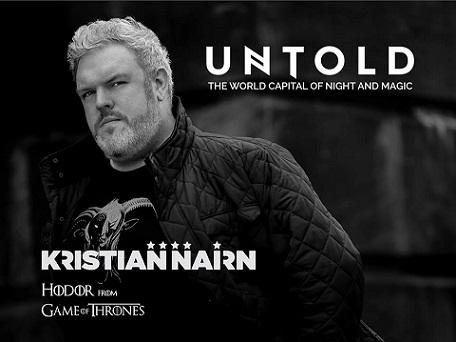 Hodor, îndrăgitul personaj din Game of Thrones, urcă pe scena Untold