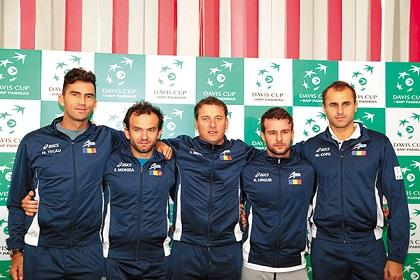 Antrenamentele echipei Romaniei de Cupa Davis