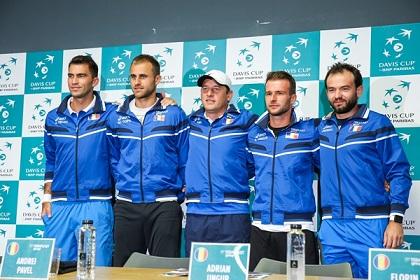 Prezentarea României pentru meciul cu Spania