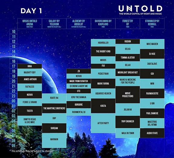 UNTOLD 2016 – DAY ONE