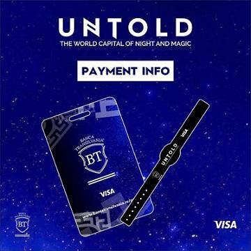 Instrumente de plată la Untold 2016