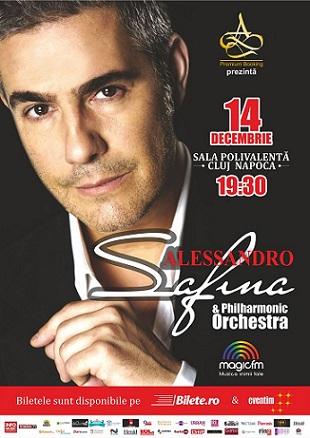 Vești excelente despre concertul celui mai popular tenor al lumii – ALESSANDRO SAFINA