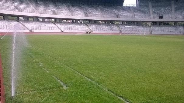 Refacerea gazonului de pe stadionul Cluj Arena