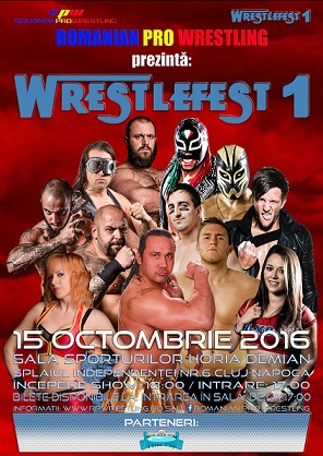 15 octombrie WrestleFest