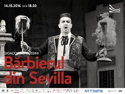 14 octombrie Bărbierul din Sevilla
