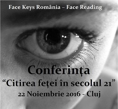 """Conferinţa """"Citirea feţei în secolul XXI"""" vine şi în Cluj"""