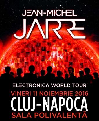 Oferim o invitatie dubla la concertul lui Jean-Michel Jarre