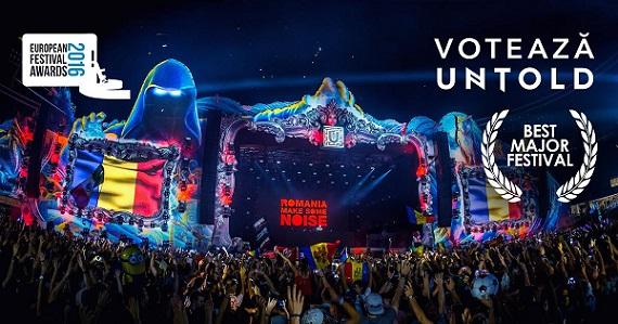 UNTOLD nominalizat la European Festival Awards