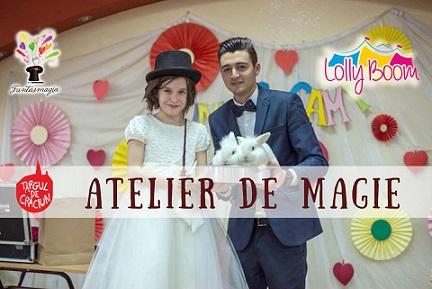 02 decembrie Atelier Magie