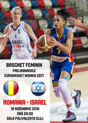 Bilete pentru meciul decisiv de baschet Romania – Israel
