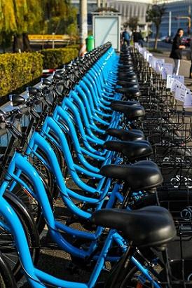 Rețea de stații self-service de închiriere de biciclete