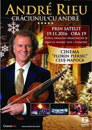 19 noiembrie Crăciunul cu André Rieu