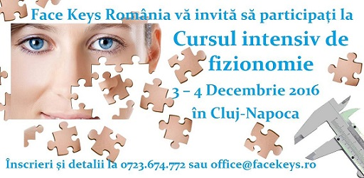 Curs intensiv de Face Reading in Cluj