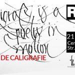 21 noiembrie Expoziție de caligrafie