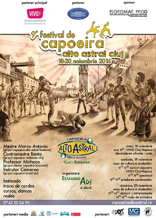 18-20 noiembrie Festival International de Capoeira Alto Astral
